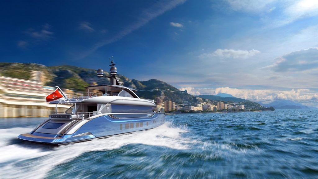 balade en yacht sur la côte d'Azur