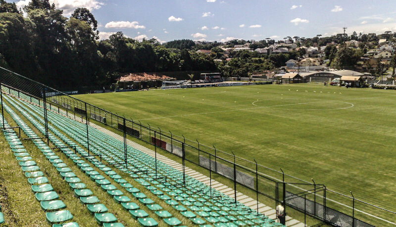 Estadio Janguito Malucelli au Brésil