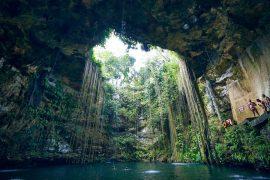 cenote yucatan mexique baignade insolite