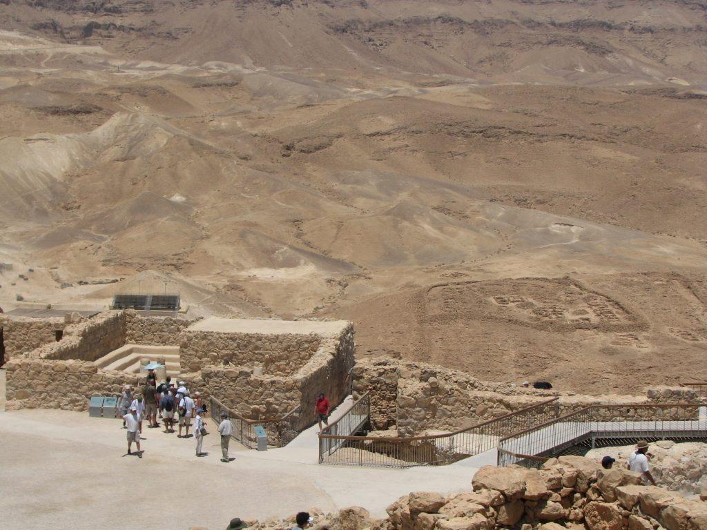 Massada en Israel