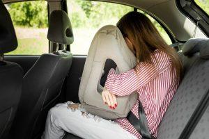 coussin de voyage ergonomique