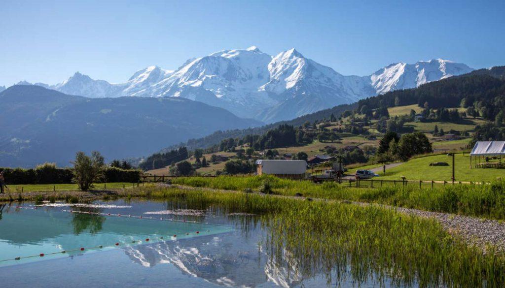 Plan eau biotope écologique insolite Combloux