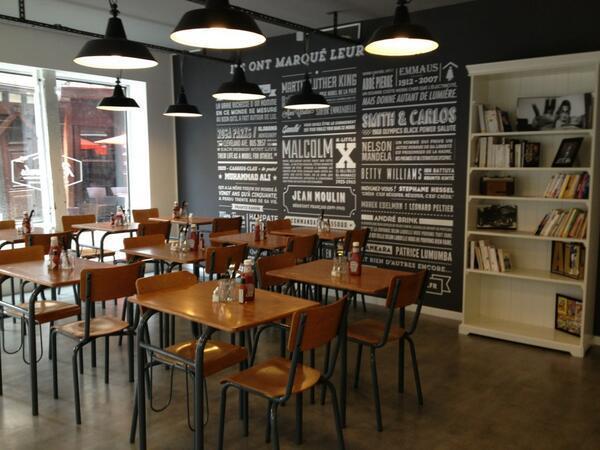 Restaurant de burger Rosaparks à Paris