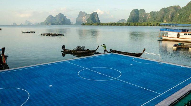Le terrain flottant du village de Ko Panyi