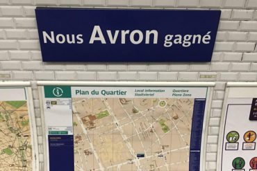 métro Paris Champion du monde