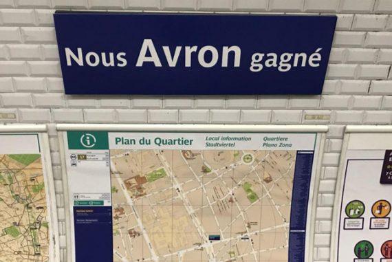 métro Paris Champion du monde