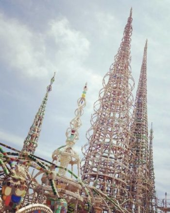 Hills Watts Tower Los Angeles