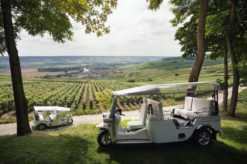 10 façons insolites de découvrir les vignes de Champagne
