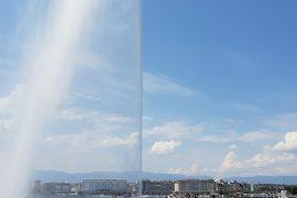 jet d'eau à Genève