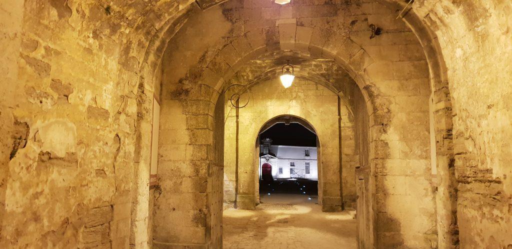 visite théatralisée du château d'Oléron avec Vauban