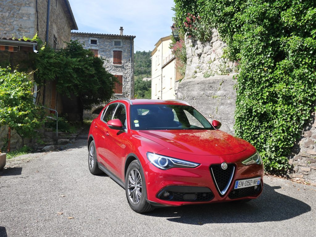 test du SUV Alfa Romeo Stelvio