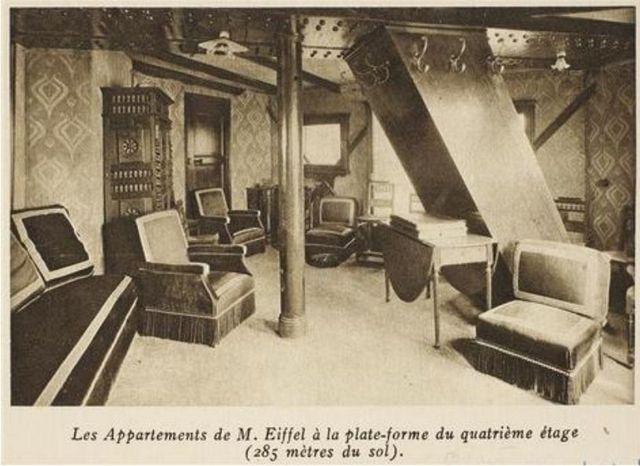 appartement secret de la tour Eiffel