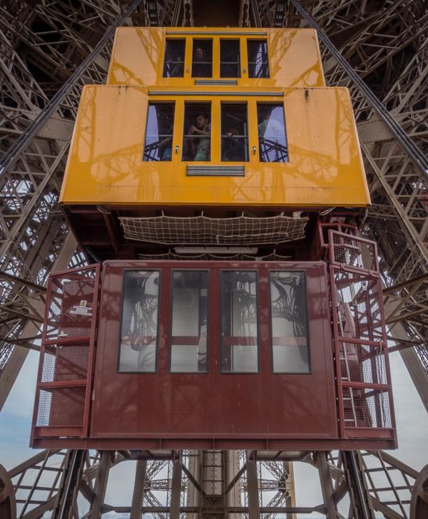 les ascenseurs de la tour Eiffel