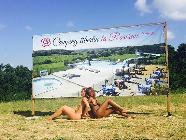 camping libertin la Roseraie