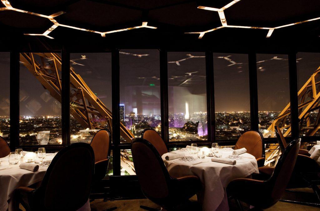 restaurant Jules Verne à la tour Eiffel