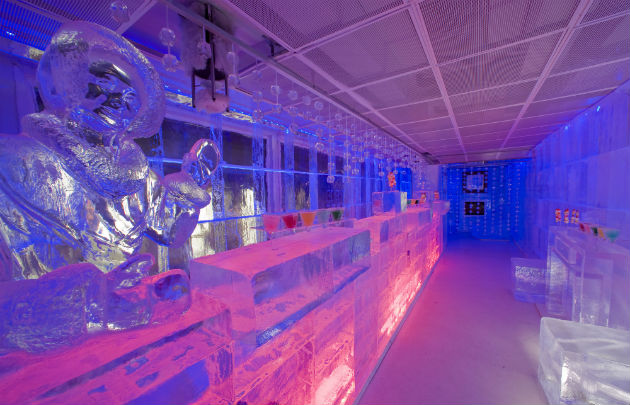 bar de glace à Paris
