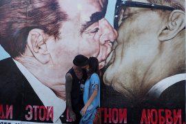 baiser Mur de Gunther Schaeffer à Berlin