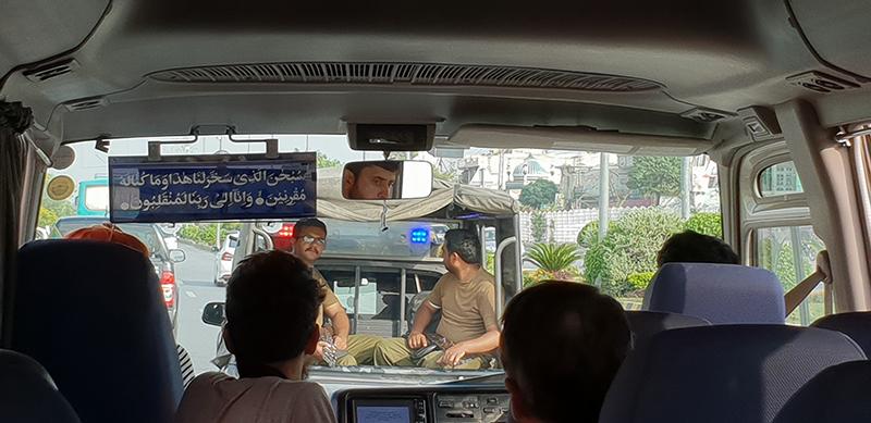 escorte armée à Islamabad Pakistan