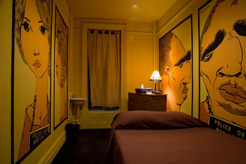 hôtel insolite New York : le Carlton Arms