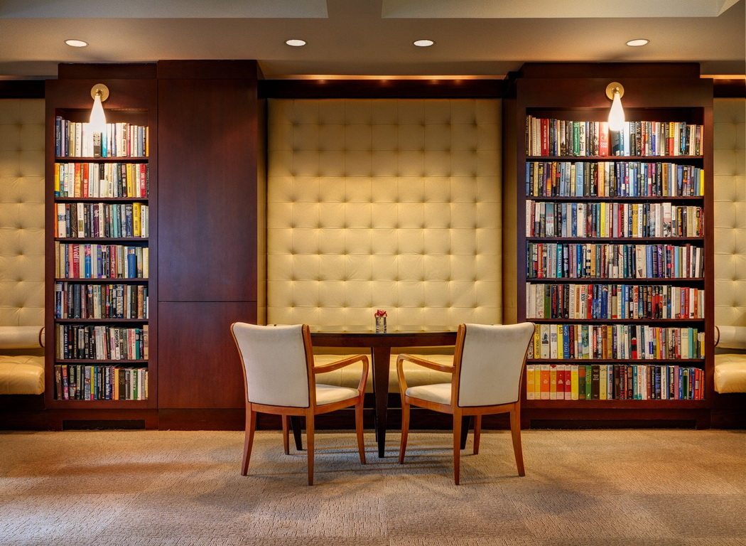 library hotel insolite à New York