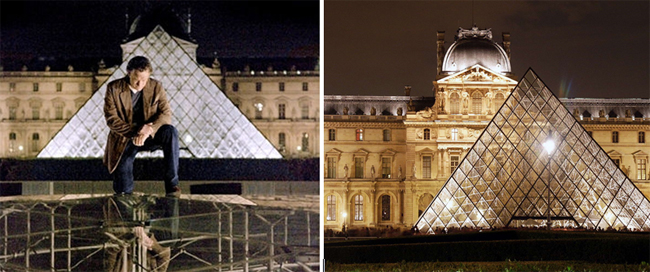 Tom Hanks au Louvre