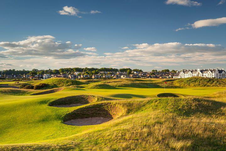 Carnoustie Golf Links, Carnoustie, Écosse