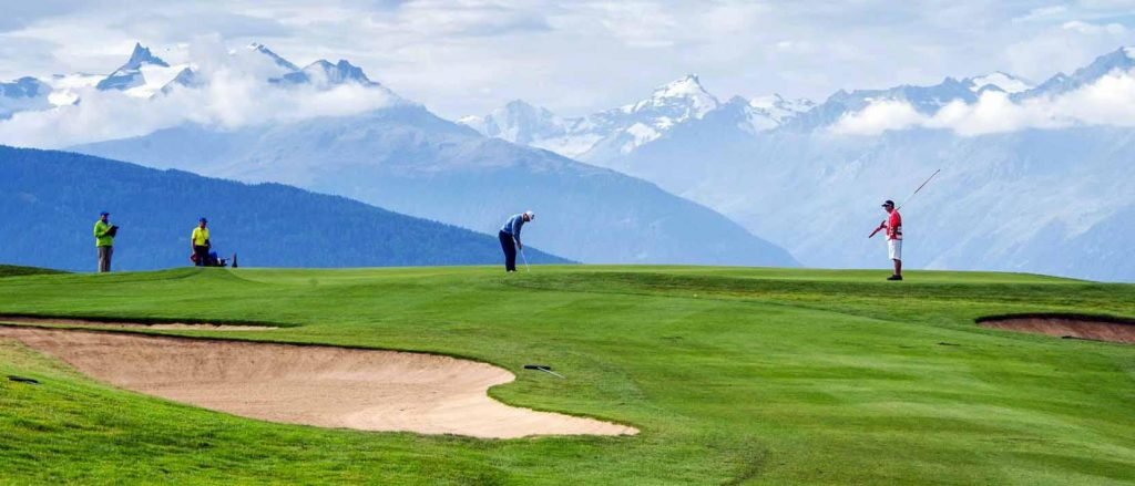 Golf Club de Crans-Sur-Sierre, Suisse