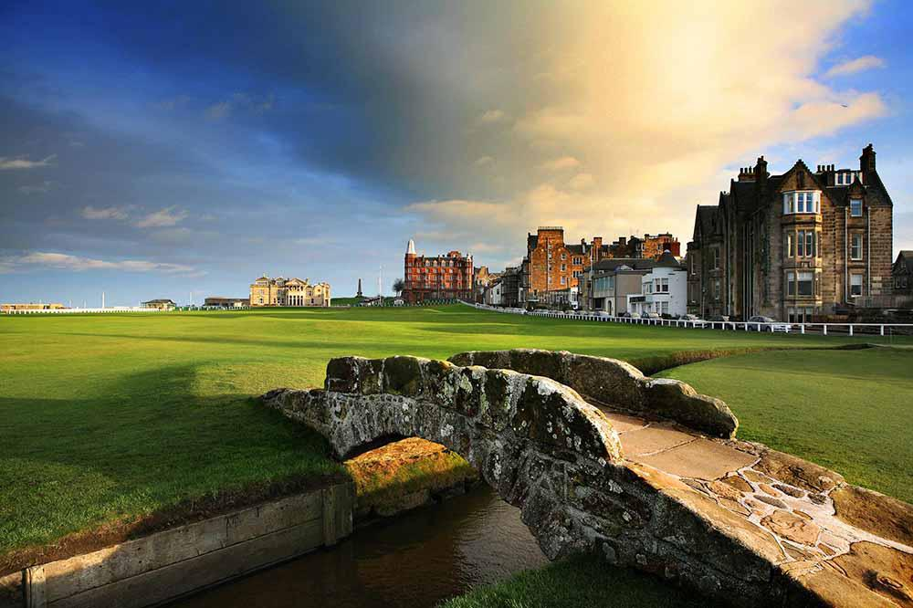 Old Course, St Andrews, Ecosse