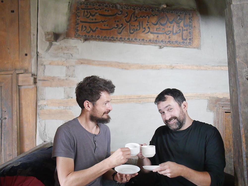thé chai au fort Baltit