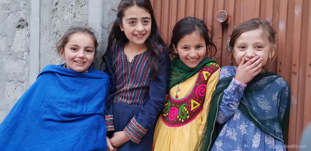 village de Gulmit au Giglit Baltistan
