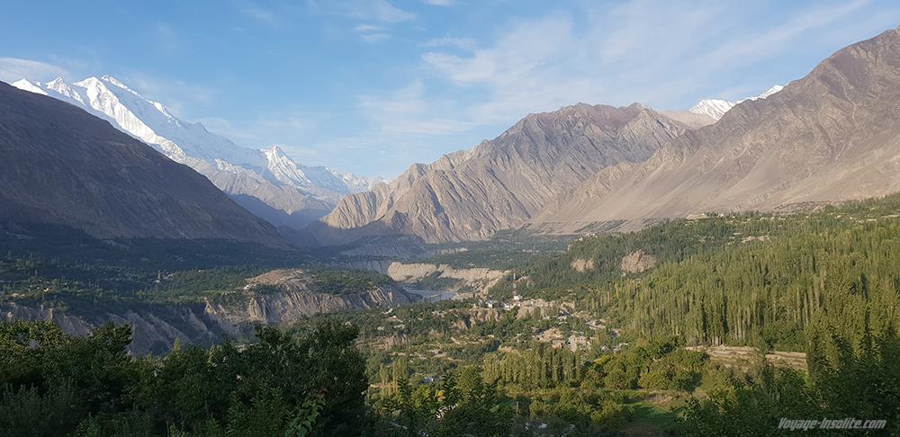 vallée de la Hunza Gilgit Baltistan