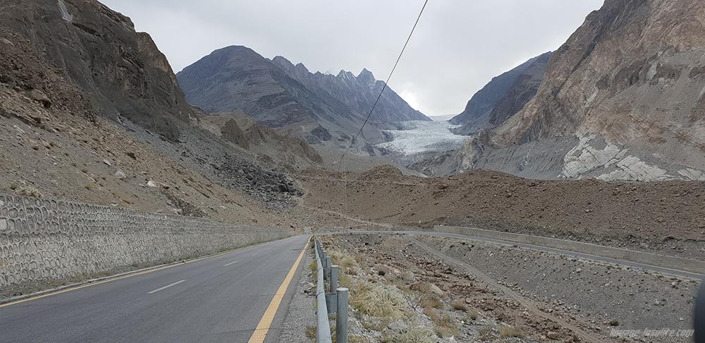 glacier de Passu Gilgit Baltistant