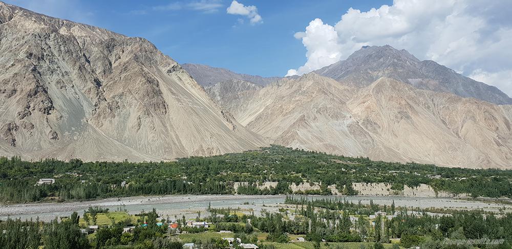 route Karakoram Gilgiit Baltistan Pakistan