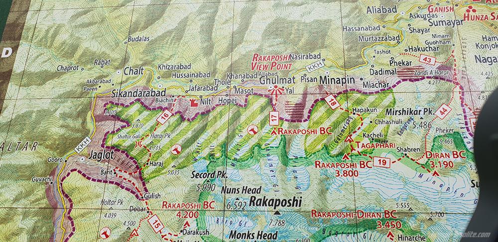 Mont Rakaposhi Gilgit Baltistan Pakistan