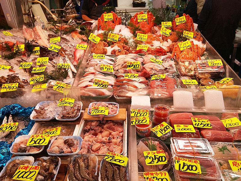 marché au poisson Tsukiji