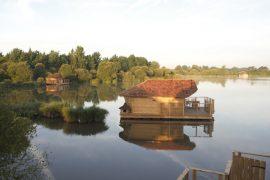 Village flottant de Pressac dans la Vienne