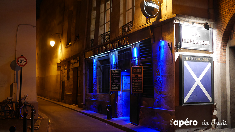 pub Highlander Paris