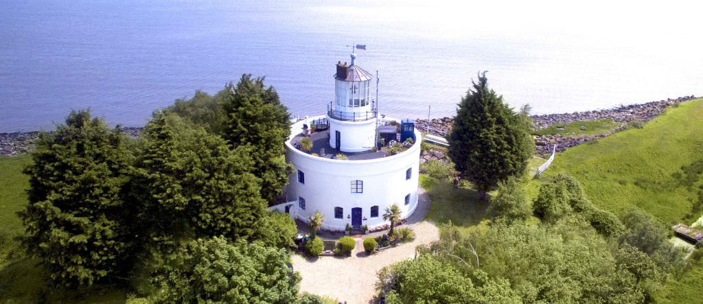 phare de West Usk - Pays de Galles