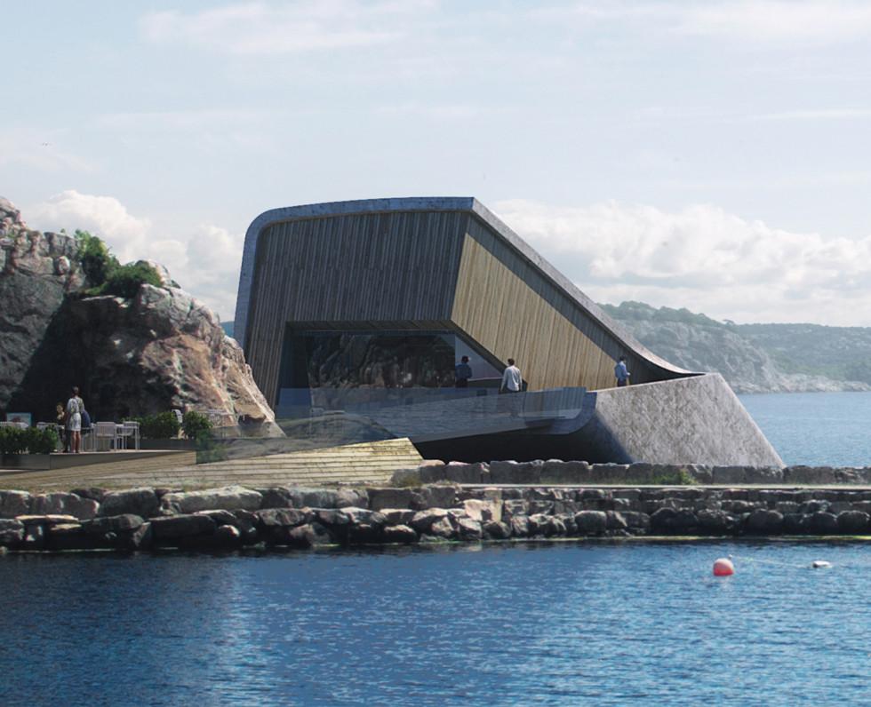 restaurant sous-marin Norvège