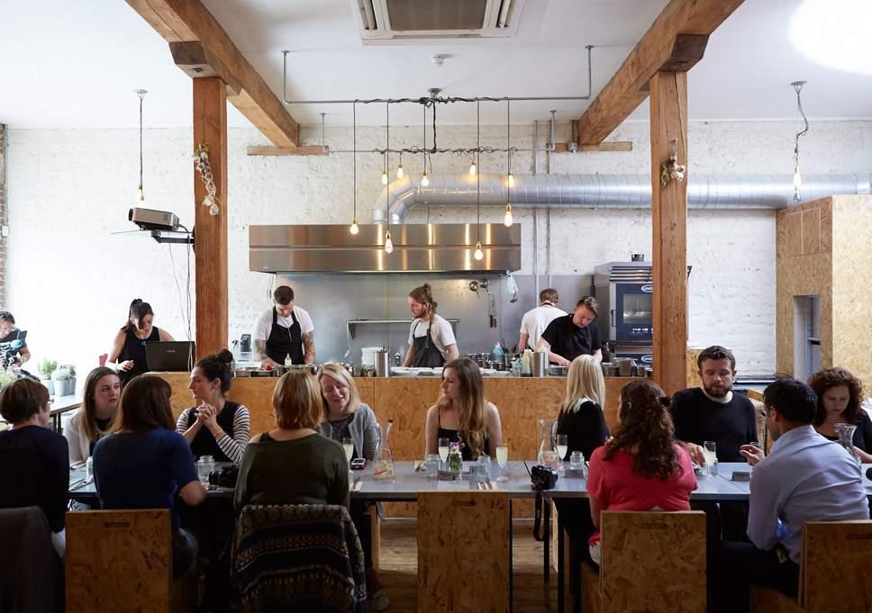 restaurant zéro déchet Brighton