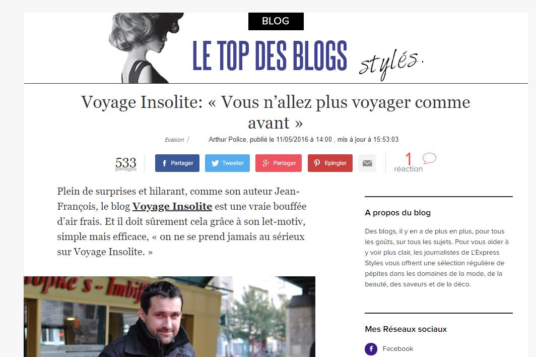 voyage insolite express
