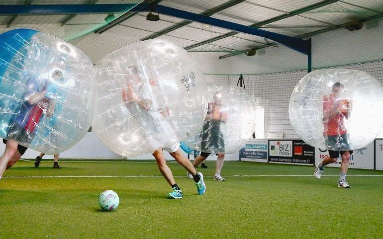 Bubble foot à Rillieux