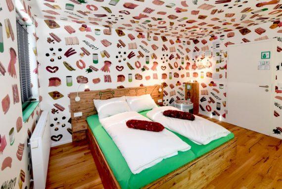 hotel saucisse en Allemagne