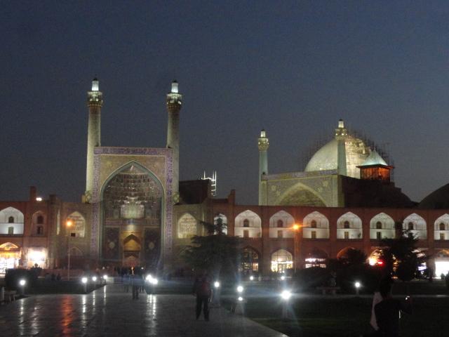 La place royale d'Ispahan en Iran