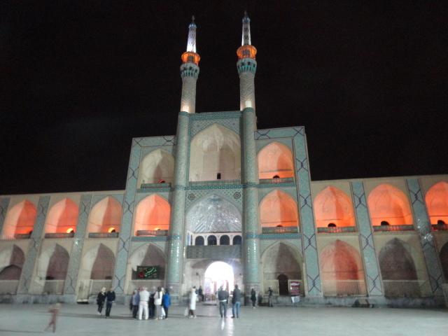 Le complexe Amir Chakhmagh de Yazd en Iran