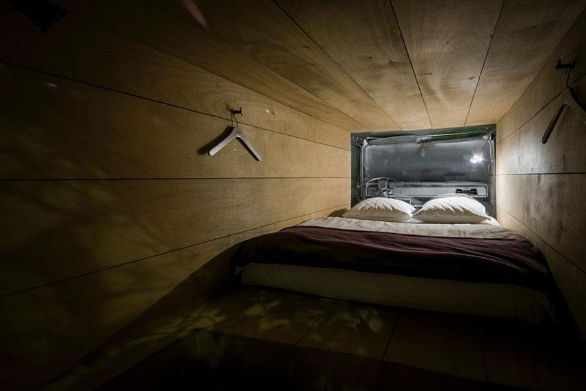 Dormir dans une PJ7 à Zurich en Suisse