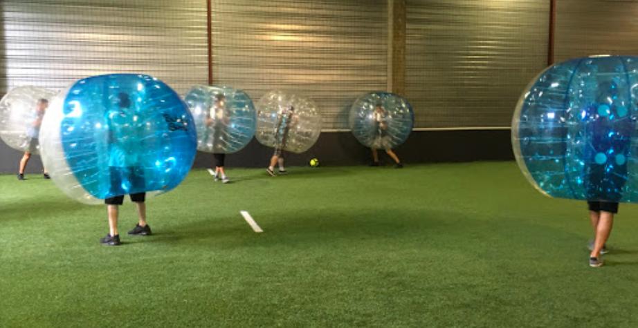 Bubble foot / photo par bubble soccer arena