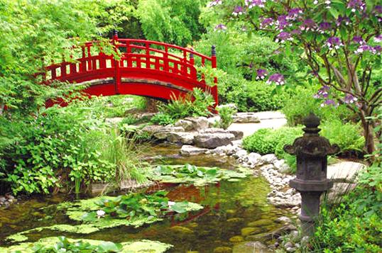 Jardin Zen Rueil-Malmaison