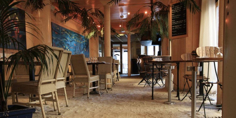 Coco de mer restaurant les pieds dans le sable