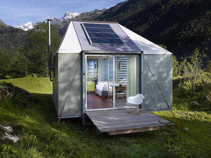 La tente écologique design dans les alpes bernoises